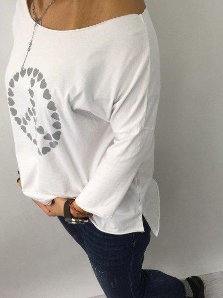 BLU180330-Bluzka znak pokoju popiel