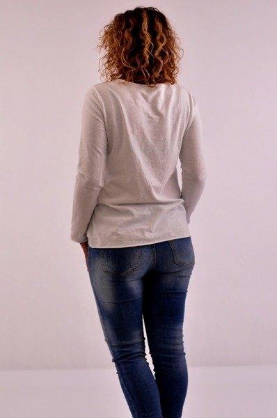 Bluzka nadruk
