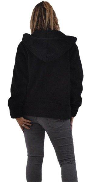 Płaszcz krótki czarny