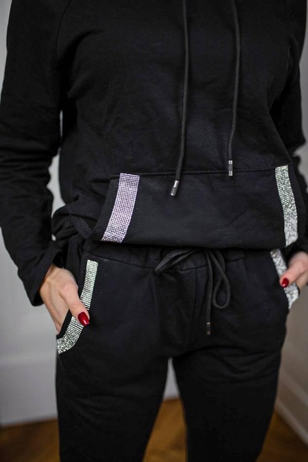 Rewelacyjne ocieplane spodnie z cyrkoniami
