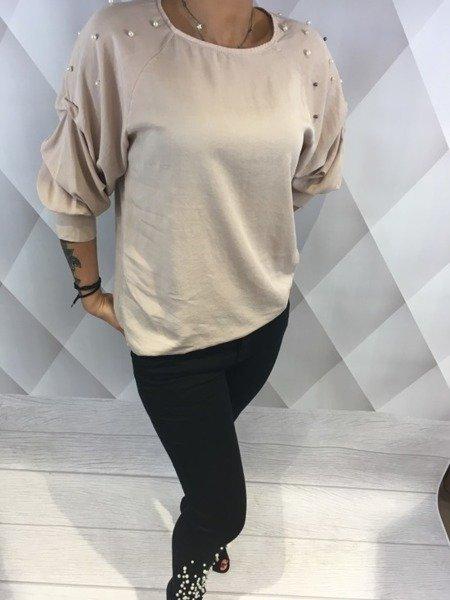 Spodnie czarne perły M