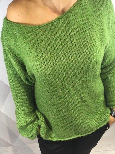 Sweter zielony