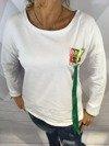 Bluza Brave z tasiemkami
