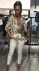 Cudownie gatunkowa bluzka w beżowe literki