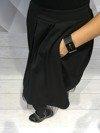 Spódnica czarna z tiulem