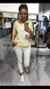 Super gatunkowa żółta bluzka z motywem orła